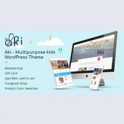 Aki v1.3.2 - Multipurpose Kids WordPress Theme