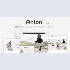 Anton v1.1.0 - Multi Store Responsive WordPress Theme