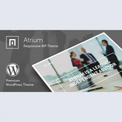Atrium v2.6 - Responsive One Page WordPress Theme