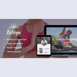 BeYoga v1.1.3 - Yogastudio & Gym WordPress Theme