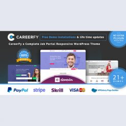 Careerfy v5.0.0 - Job Board WordPress Theme