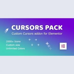 Cursors Pack v1.0.1 - Addon for Elementor WordPress Plugin