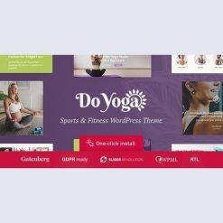Do Yoga v1.1.2 - Fitness Studio & Yoga Club WordPress Theme