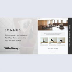 Somnus v1.0.9 - Yoga & Fitness Studio WordPress Theme