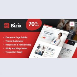 Bizix v1.1.6 - Corporate and Business WordPress Theme