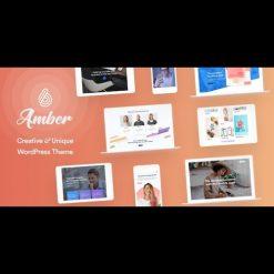 Amber Six v1.8 - Creative and Multipurpose WordPress Theme