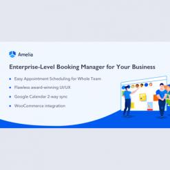 Amelia v3.0.0 - Enterprise-Level Appointment Booking