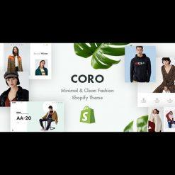CORO v1.0.0 - Minimal & Clean Fashion Shopify Theme