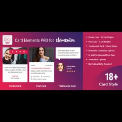 Card Elements Pro for Elementor v1.0.2
