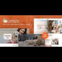 Catozo v1.0 - Pets Shop Responsive Shopify Theme
