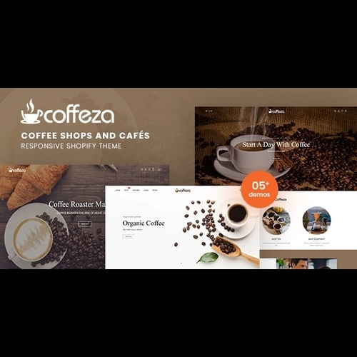 Coffeza v1.0 - Coffee Shops and Cafés Responsive Shopify Theme