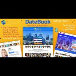 DateBook v4.2 - Dating WordPress Theme