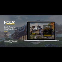 Foja v1.5 - Single Property WordPress Theme