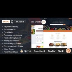 FoodBakery v2.1 - Food Delivery Restaurant Directory WordPress Theme