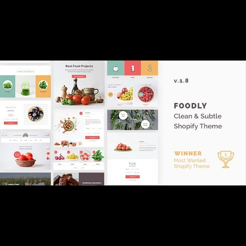 Foodly v1.8 - One-Stop Food Shopify Theme