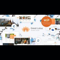 Great Lotus v1.3.1 - Oriental Buddhist Temple WordPress Theme + RTL