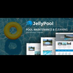 JellyPool v1.3 - Pool Maintenance & Cleaning Theme