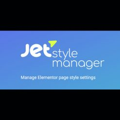 JetStyleManager v1.1.2 - Manage Elementor Page Style Settings