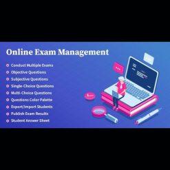 Online Exam Management v2.3 - Education & Results Management