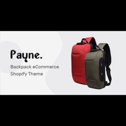 Payne v1.0 - Backpack eCommerce Shopify Theme