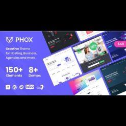 Phox v1.7.2 - Hosting WordPress & WHMCS Theme