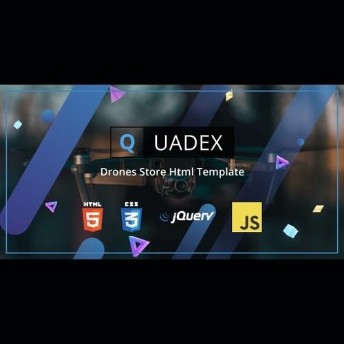 Quadex v1.0 - Drones Store Html Template