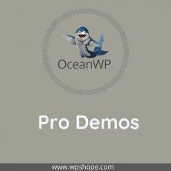 OceanWP Pro demos