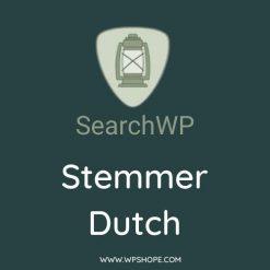 SearchWP Dutch Keyword Stemmer