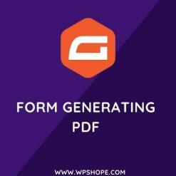 Gravity Forms Generating PDF