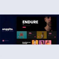 Anggita - One Page Portfolio Theme