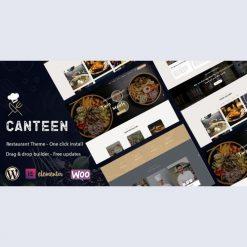 Canteen - Restaurant WordPress Theme