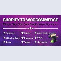 Import Shopify to WooCommerce v1.1.0
