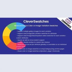 CleverSwatches - WooCommerce Color or Image Variation Swatches