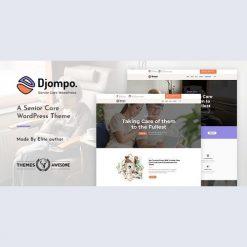 Djompo - Senior Care WordPress Theme