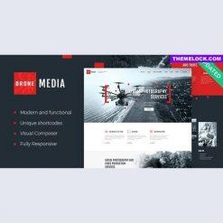 Drone Media - Aerial Photography & Videography WordPress Theme + RTL