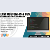 Easy Custom JS and CSS - Extra Customization for WordPress