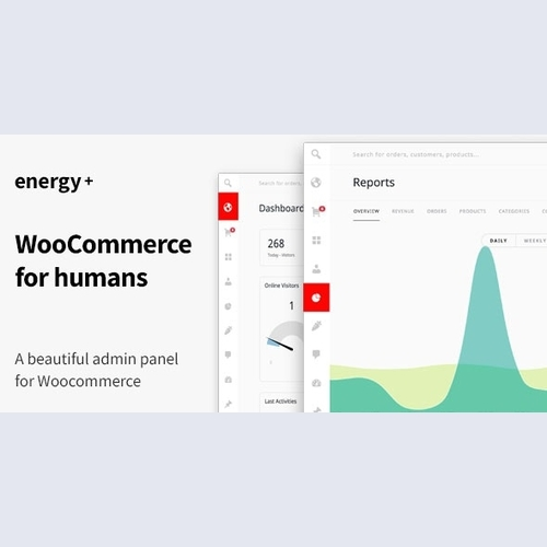 EnergyPlus- A beautiful admin panel for WooCommerce