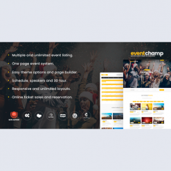 Event Champ – Multiple Events & Conference Theme