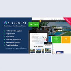 FullHouse - Real Estate Responsive WordPress Theme