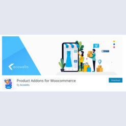 Woocommerce Custom Product Addons Single Site