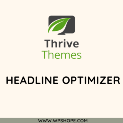 Thrive Plugin Headline Optimizer