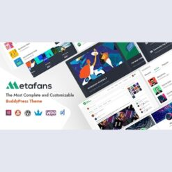 MetaFans - Community & Social Network BuddyPress Theme