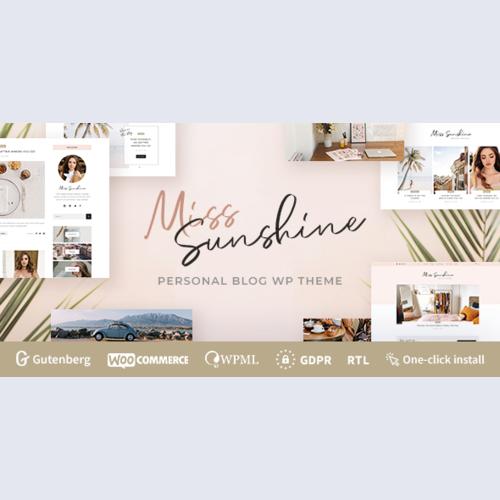 Miss Sunshine - Lifestyle & Beauty Women Blog