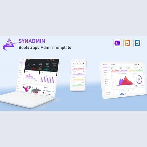 Synadmin v1.0 - Bootstrap 5 Admin Template