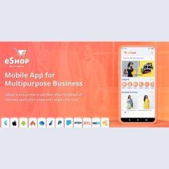 eShop - Flutter E-commerce Full App